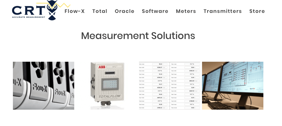 Mass Flow Measurement Page