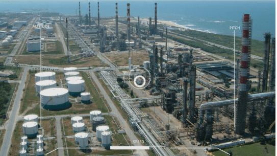 drone remote monitoring image