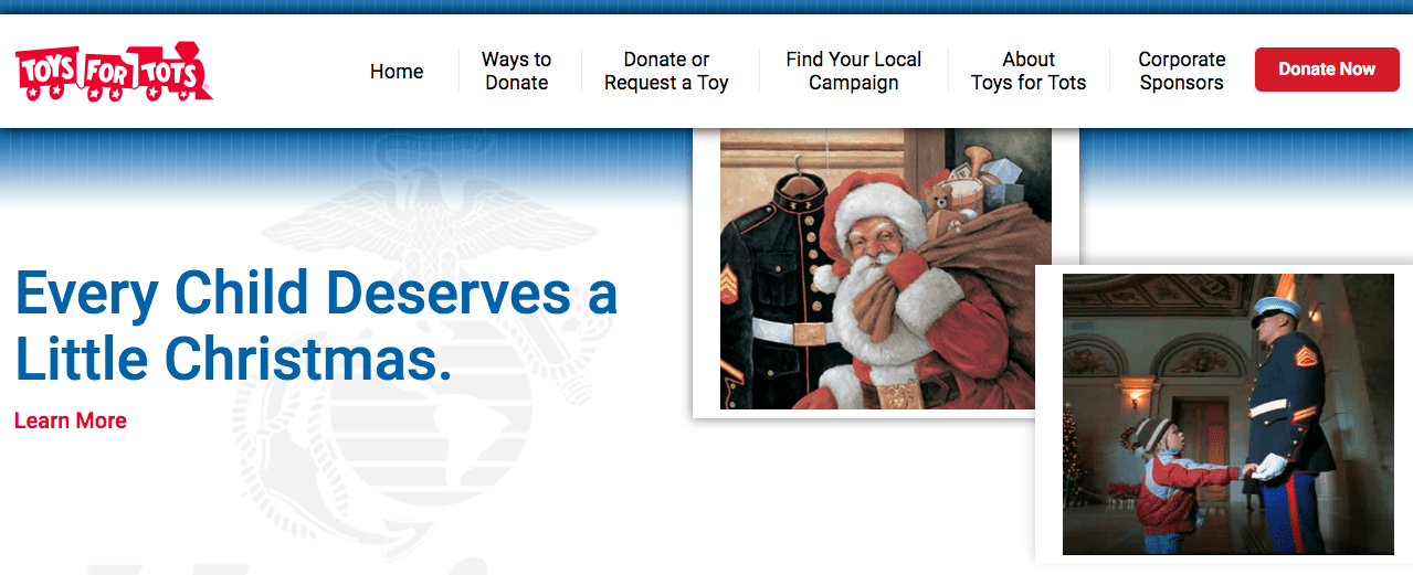 Marine Toys For Tots Featured Image