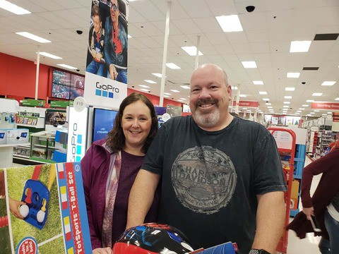 Toys For Tots Shopping