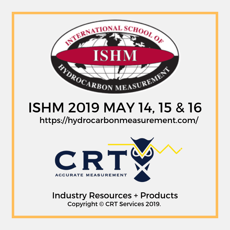 CRT Services ISHM 2019 Graphic